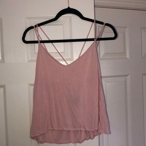 Pink Cross-back Tee from H&M